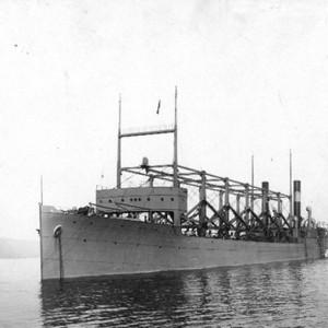 USS Cyclops még a Hudson-folyón