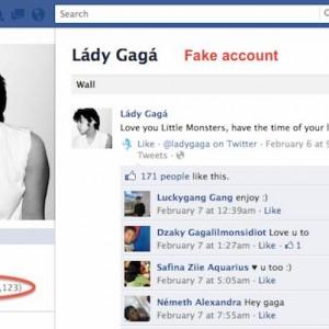 Egy kamu Lady Gaga