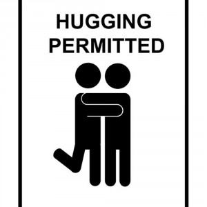 hugging-permitted