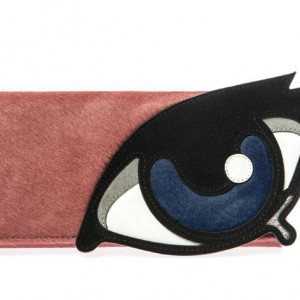 Pierre-Hardy-Calf-Hair-and-Suede-Eye-Clutch