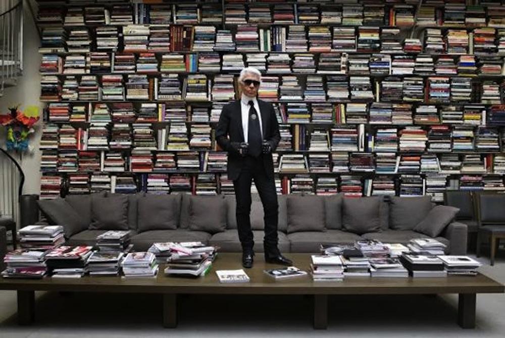 karl-lagerfeld-book-wall