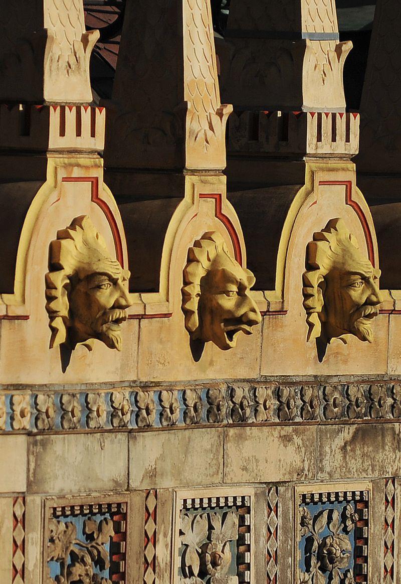 Ornamentation on the façade – Homlokzatdíszek