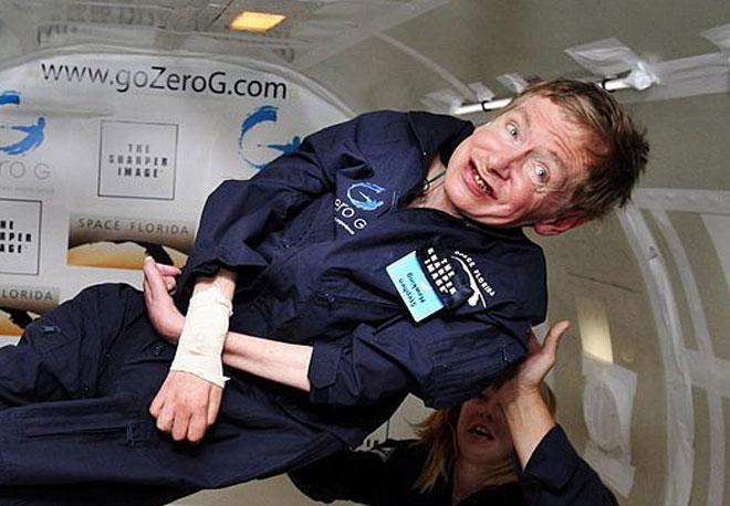A professzor a NASA-nál járt súlytalanság szimuláción