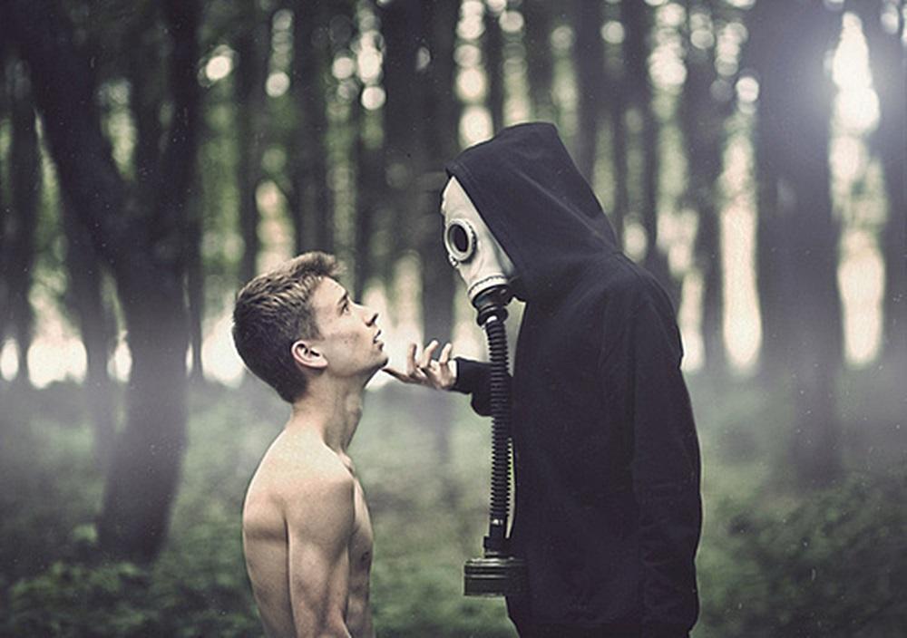 m man mask