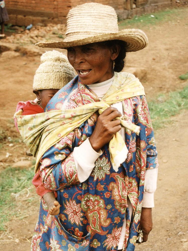 Eletkep anya gyermekkel