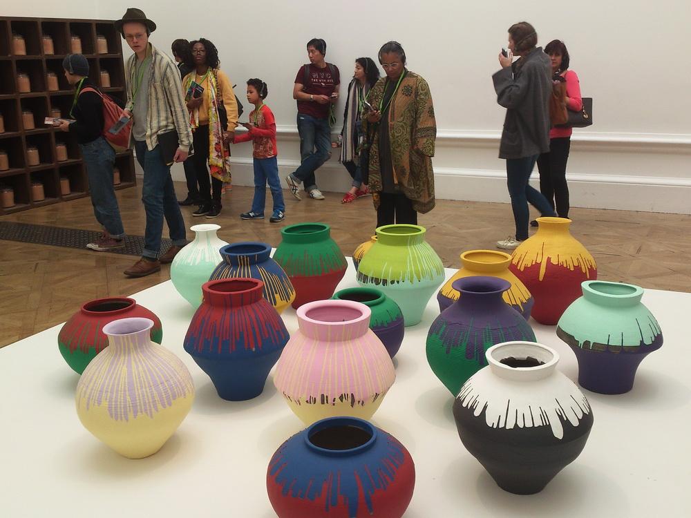 Ai Weiwei  műve a Royal Academy of Art-ban