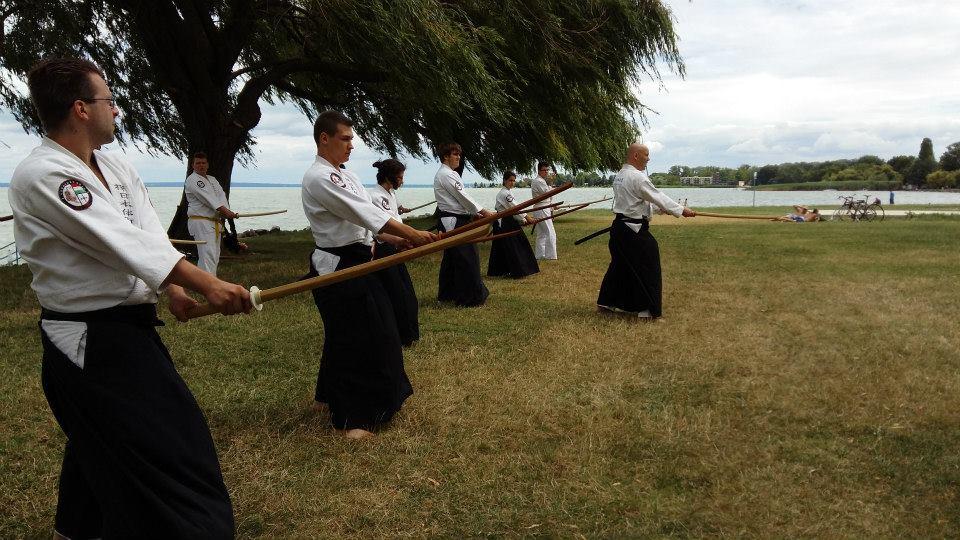 Balaton partján, edzőtábor