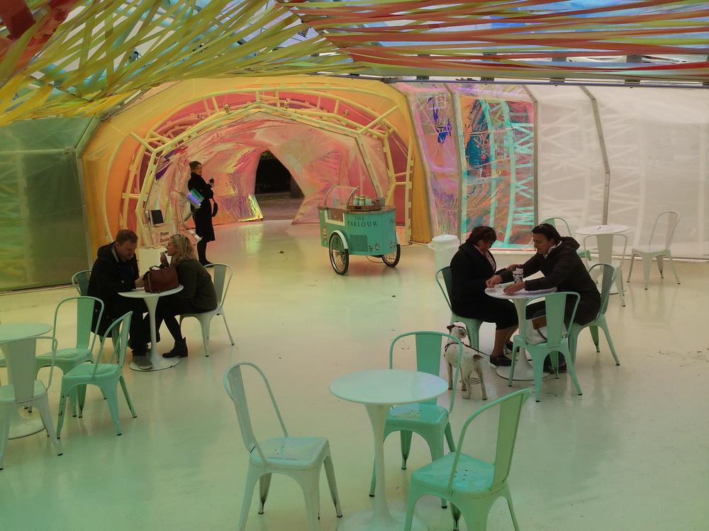 a Serpentine galéria pavilonja
