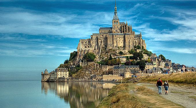 Mont Saint-Michel - Franciaország
