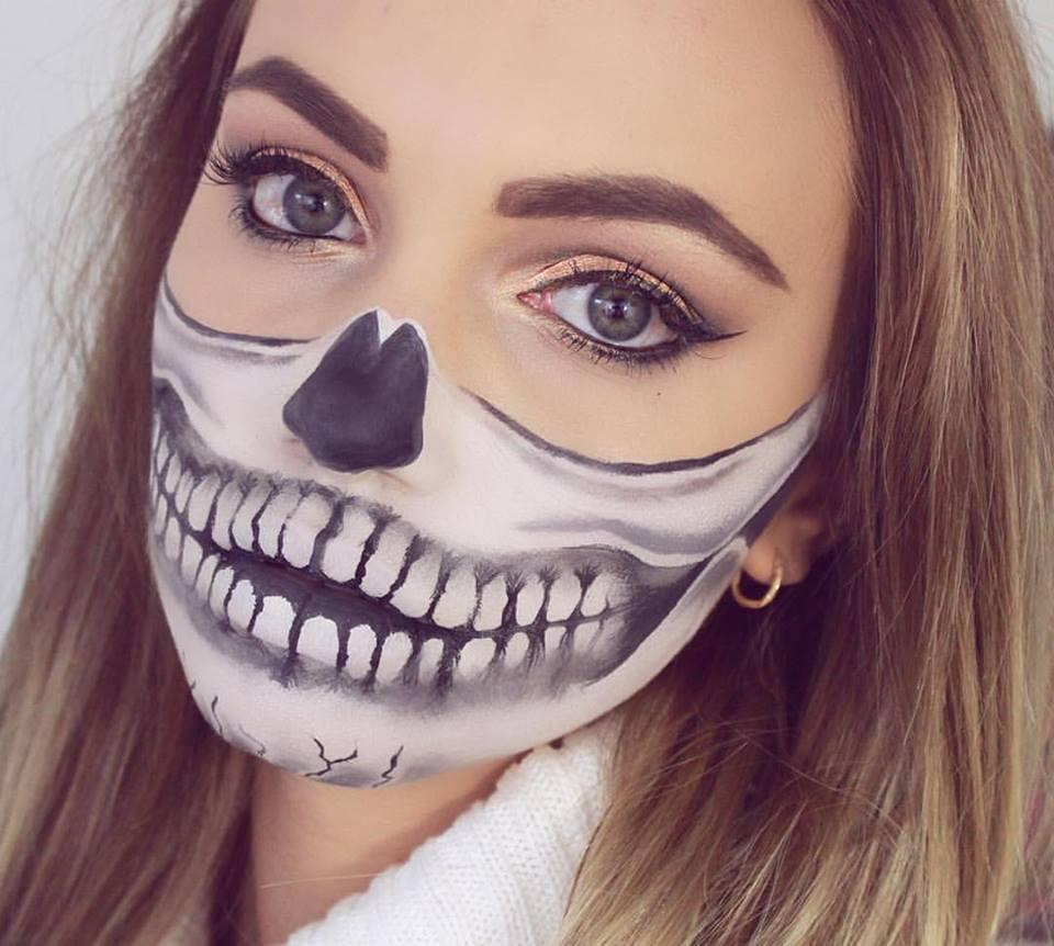 Halloween Sminkek.Halloween I Remesen Szep Sminkek