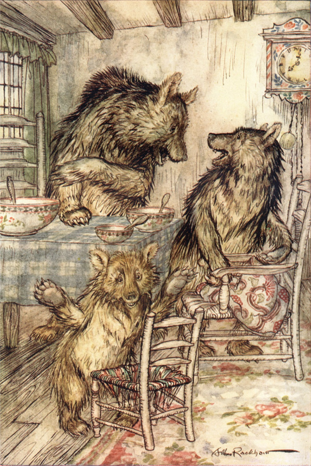 Goldilocks-Three-Bears