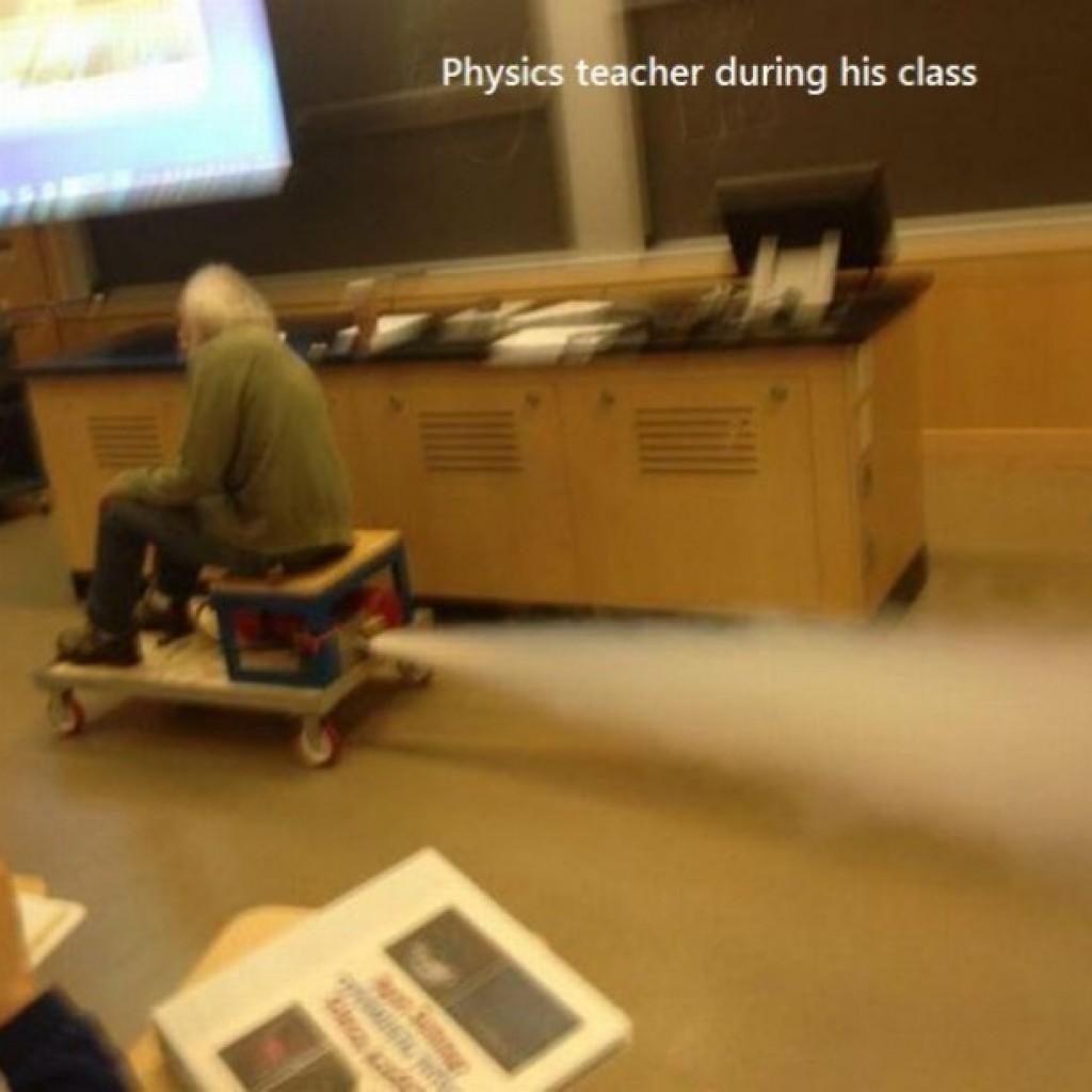 Így a legjobb a fizika.