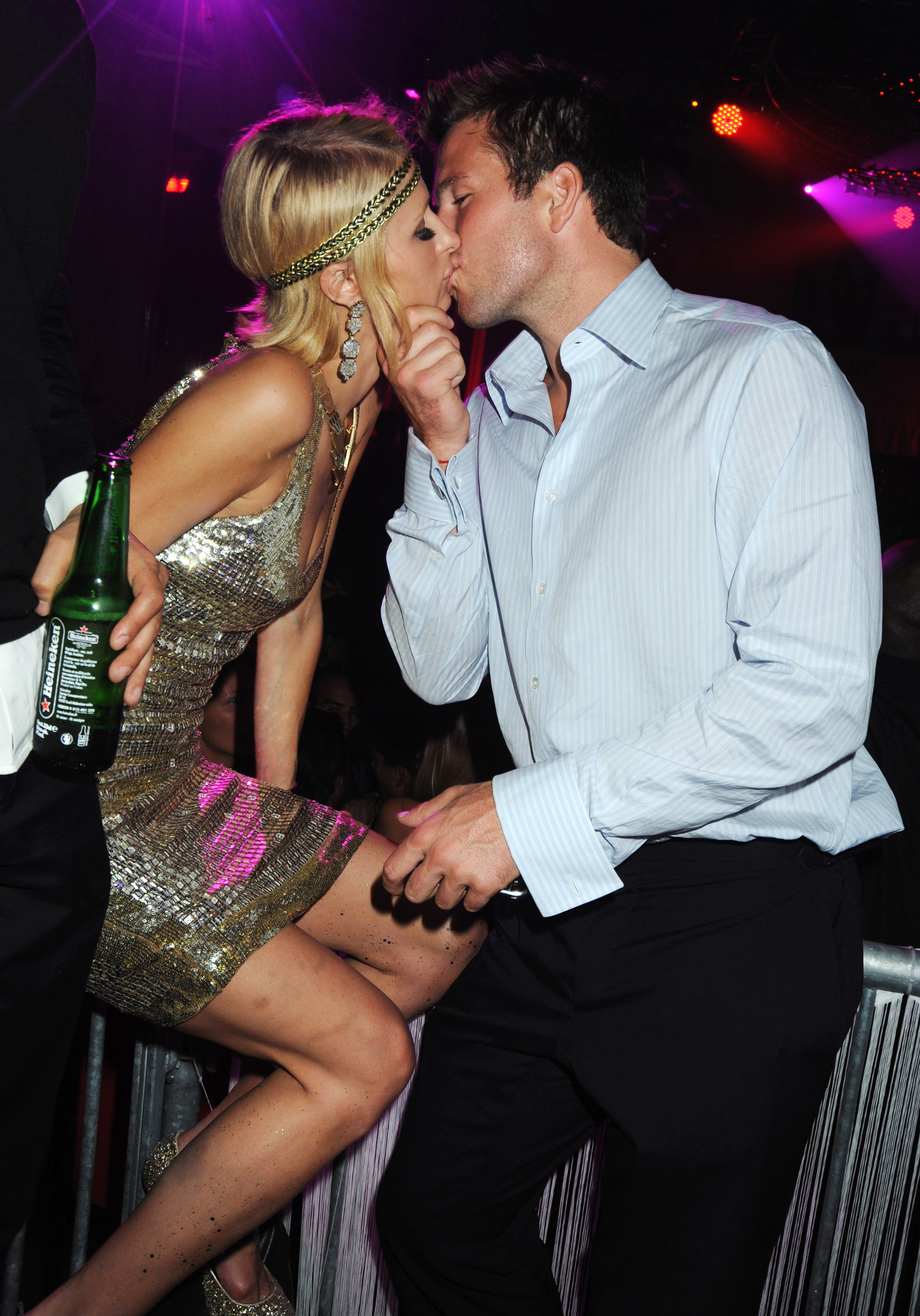 Paris Hilton hosts a night at the Jalouse Club