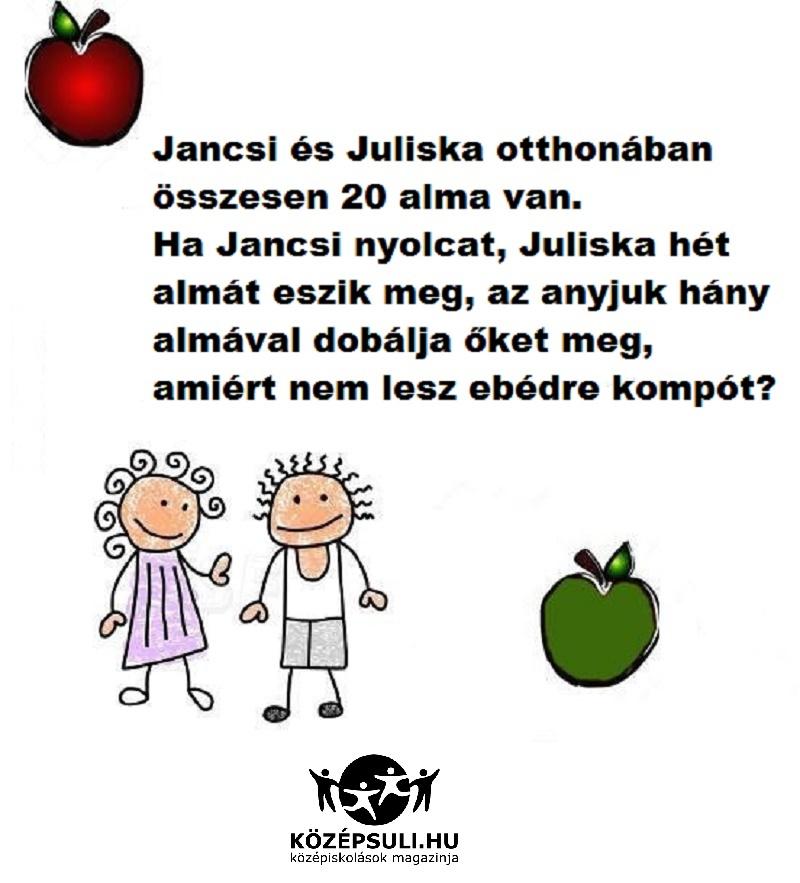 matek és alma