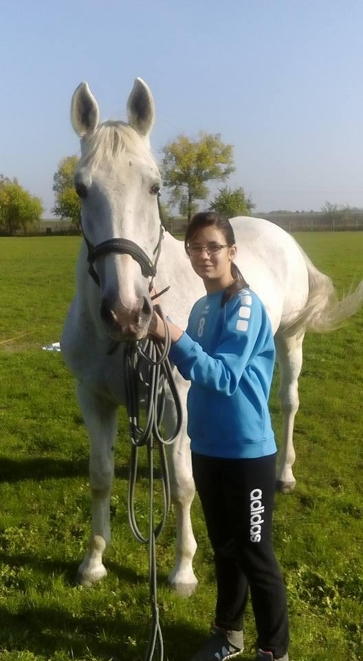 Munkácsi Lili és a lova