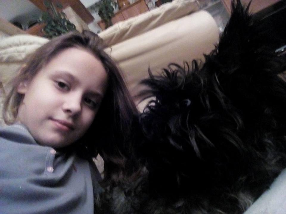 Valaki Zsófi és kutyája