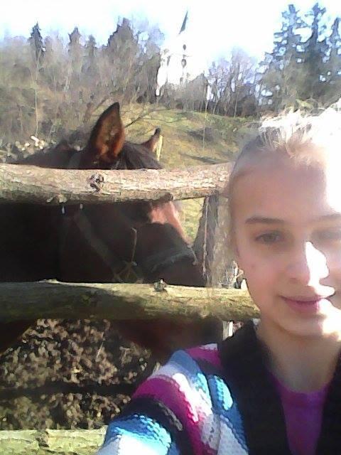 Varga Elizabet és lova