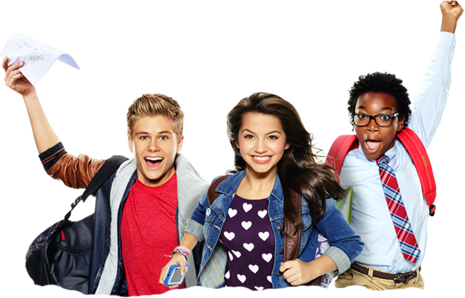 100-Things-to-Do-Before-High-School-Cast-Characters-Stars-CJ-Parker-Isabela-Moner-Fenwick-Jaheem-Toombs-And-Crispo-Owen-Joyner-School-Nickelodeon-Northern-Europe-Nick-North