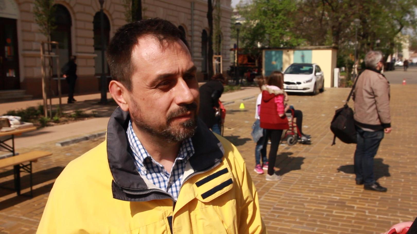 Bocskai István, az OTP Bank társadalmi kapcsolatokért felelős vezetője