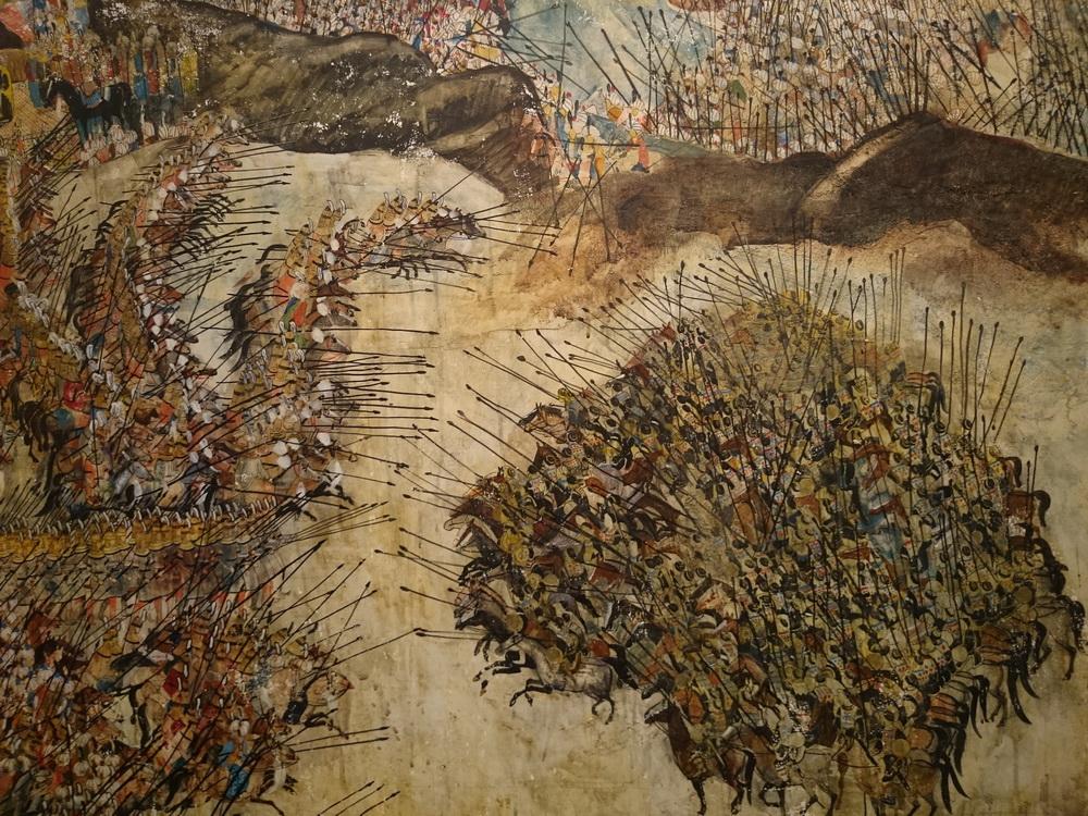 Meraba Abramishvili egy festménye