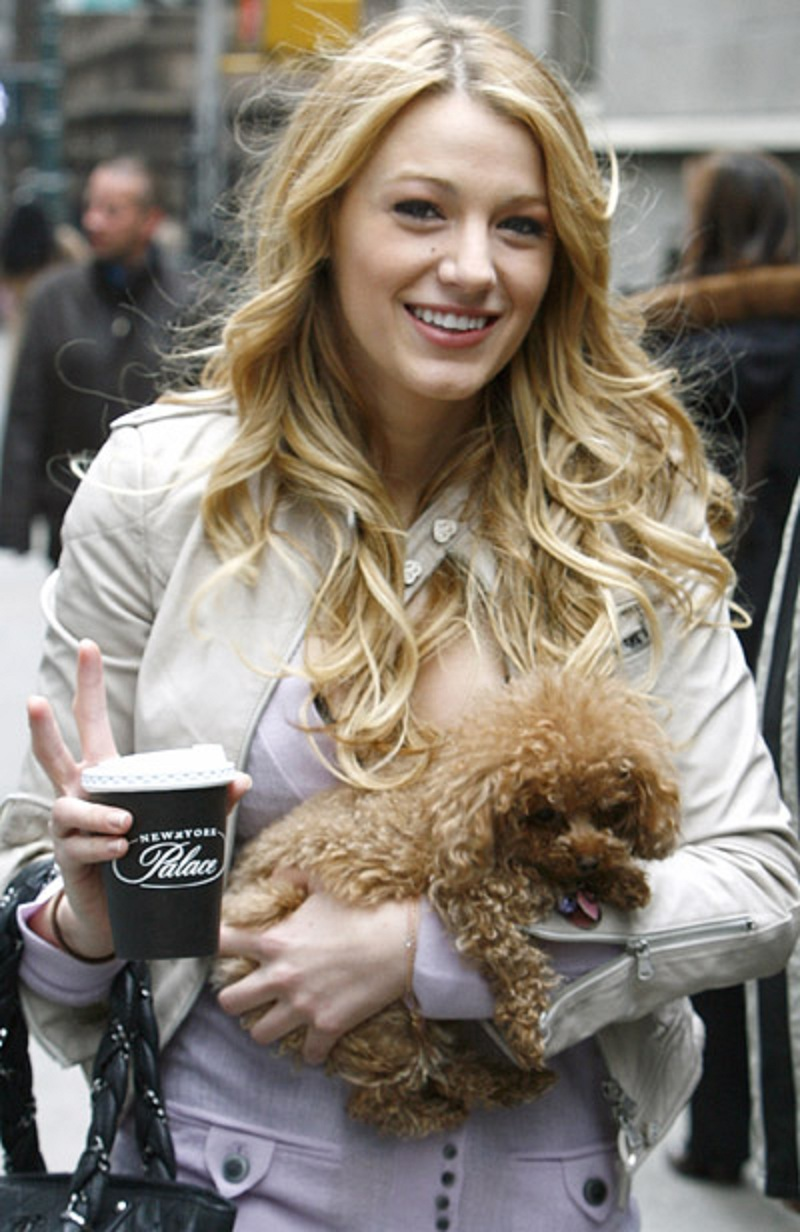 blake-lively-and-dog