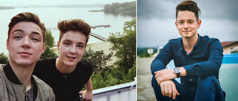 Forrás: (bal oldali kép) Profilflash.de; (jobboldali kép) Facebook / Dezső Bence