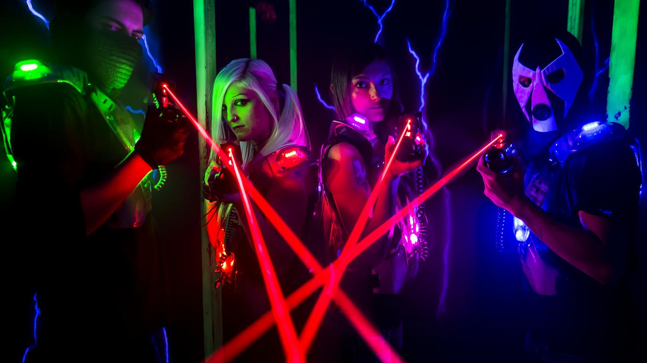 XRaid-laserGames