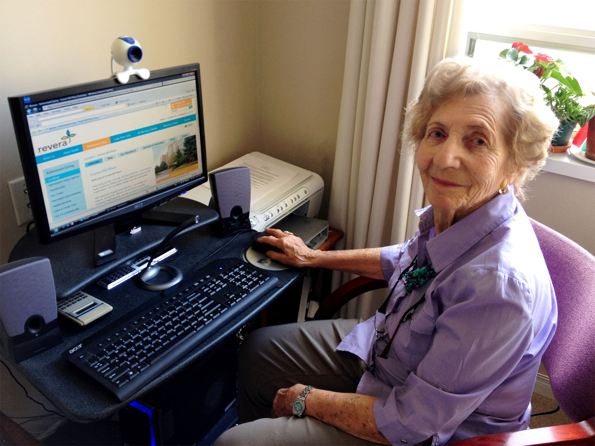 REVERA INC. - Revera Report on Tech-Savvy Seniors