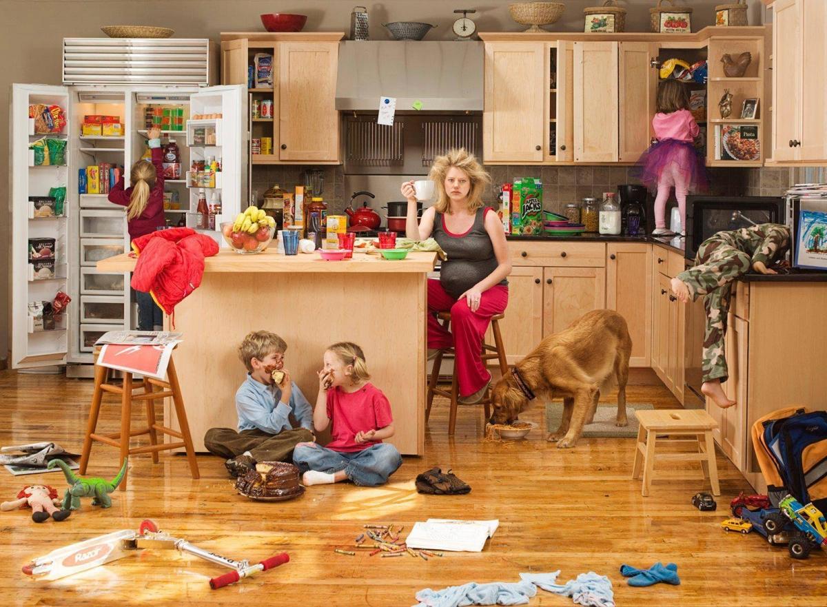 keresek nők háztartásbeli